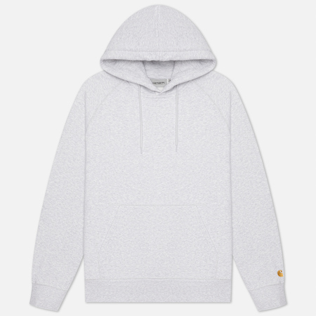 Мужская толстовка Carhartt WIP Chase 13 Oz Hooded Ash Heather/Gold