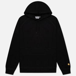 Мужская толстовка Carhartt WIP Chase 13 Oz Hooded Black/Gold