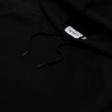 Мужская толстовка Carhartt WIP Chase 13 Oz Hooded Black/Gold фото- 1