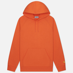 Мужская толстовка Carhartt WIP Chase 13 Oz Hooded Clockwork/Gold
