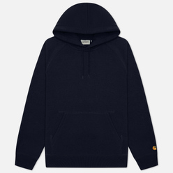 Мужская толстовка Carhartt WIP Chase 13 Oz Hooded Dark Navy/Gold