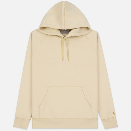 Мужская толстовка Carhartt WIP Chase 13 Oz Hooded Flour/Gold