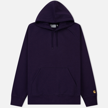 Мужская толстовка Carhartt WIP Chase 13 Oz Hooded Lakers/Gold