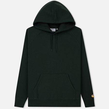 Мужская толстовка Carhartt WIP Chase 13 Oz Hooded Loden/Gold