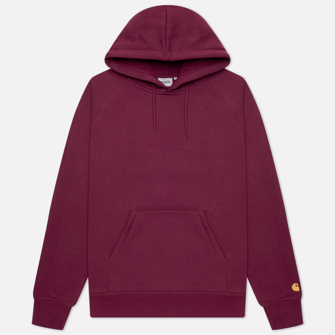 Мужская толстовка Carhartt WIP Chase 13 Oz Hooded Shiraz/Gold