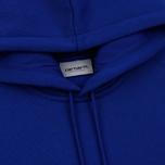 Мужская толстовка Carhartt WIP Chase 13 Oz Hooded Thunder Blue/Gold фото- 1