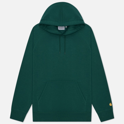 Мужская толстовка Carhartt WIP Chase 13 Oz Hooded Treehouse/Gold