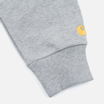 Мужская толстовка Carhartt WIP Chase Crew Neck Grey Heather фото- 3