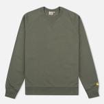 Carhartt WIP Chase Crew Neck Men`s Sweatshirt Leaf photo- 0