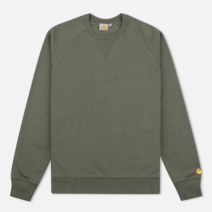 Carhartt WIP Chase Crew Neck Men`s Sweatshirt Leaf