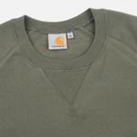 Carhartt WIP Chase Crew Neck Men`s Sweatshirt Leaf photo- 1