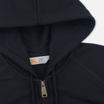 Carhartt WIP Chase Full Zip Men's Hoodie Black photo- 1