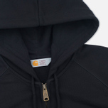 Мужская толстовка Carhartt WIP Chase Full Zip Black фото- 1