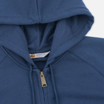Carhartt WIP Chase Full Zip Men's Hoodie Blue photo- 1