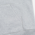 Мужская толстовка Carhartt WIP Chase Full Zip Grey Heather фото- 4