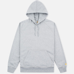 Мужская толстовка Carhartt WIP Chase LT Grey Heather фото- 0