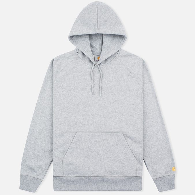 Мужская толстовка Carhartt WIP Chase LT Grey Heather