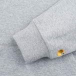 Мужская толстовка Carhartt WIP Chase LT Grey Heather фото- 2