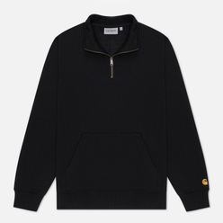 Мужская толстовка Carhartt WIP Chase Neck Zip 13 Oz Black/Gold