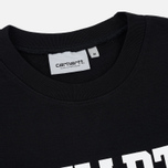 Мужская толстовка Carhartt WIP College 9.4 Oz Black/White фото- 1