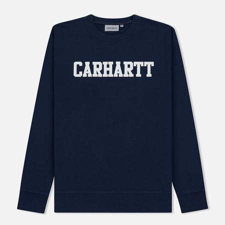 Мужская толстовка Carhartt WIP College 9.4 Oz Blue/White
