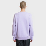 Мужская толстовка Carhartt WIP College 9.4 Oz Soft Lavender/White фото- 2