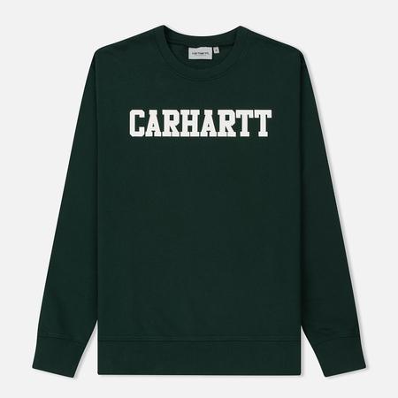 Мужская толстовка Carhartt WIP College 9.4 Oz Tasmania/White