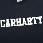 Мужская толстовка Carhartt WIP College Crew Neck Black/White фото- 2
