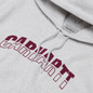 Мужская толстовка Carhartt WIP District Hooded 13 Oz Ash Heather/Shiraz фото - 1