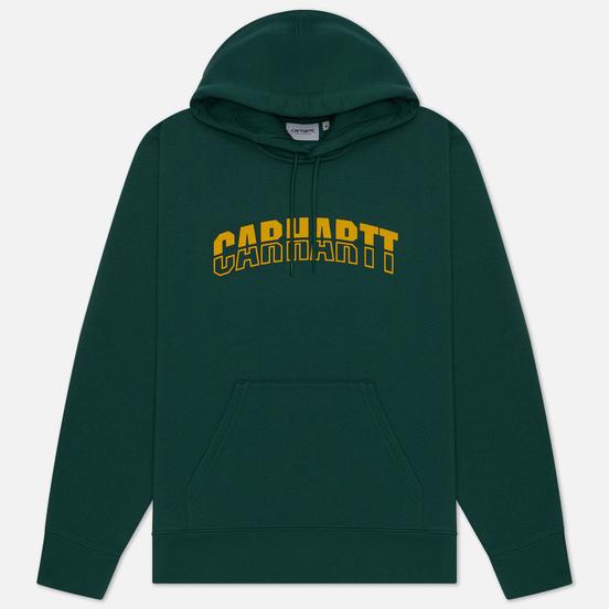 Мужская толстовка Carhartt WIP District Hooded 13 Oz Treehouse/Fresco