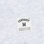 Мужская толстовка Carhartt WIP Holbrook 8.2 Oz Ash Heather фото- 2