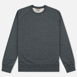 Мужская толстовка Carhartt WIP Holbrook 8.2 Oz Black Noise Heather фото- 0