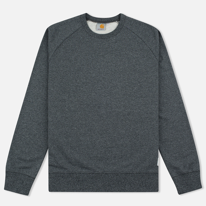 Мужская толстовка Carhartt WIP Holbrook 8.2 Oz Black Noise Heather