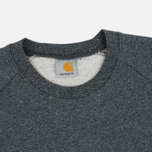 Мужская толстовка Carhartt WIP Holbrook 8.2 Oz Black Noise Heather фото- 1