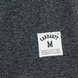 Мужская толстовка Carhartt WIP Holbrook 8.2 Oz Black Noise Heather фото- 3