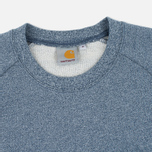 Мужская толстовка Carhartt WIP Holbrook 8.2 Oz Blue Noise Heather фото- 1