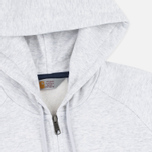 Мужская толстовка Carhartt WIP Holbrook 8.2 Oz Full Zip Ash Heather фото- 1