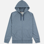Мужская толстовка Carhartt WIP Holbrook 8.2 Oz Full Zip Blue Noise Heather фото- 0