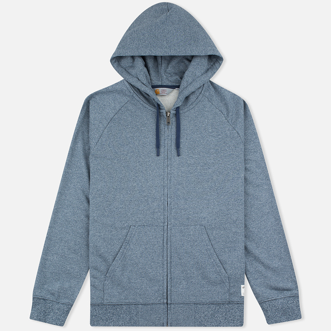 Мужская толстовка Carhartt WIP Holbrook 8.2 Oz Full Zip Blue Noise Heather