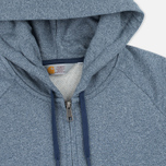 Мужская толстовка Carhartt WIP Holbrook 8.2 Oz Full Zip Blue Noise Heather фото- 1