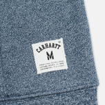 Мужская толстовка Carhartt WIP Holbrook 8.2 Oz Full Zip Blue Noise Heather фото- 5