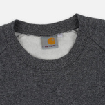 Мужская толстовка Carhartt WIP Holbrook 9.6 Oz Black Noise Heather фото- 1