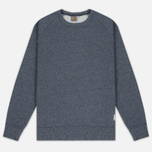 Мужская толстовка Carhartt WIP Holbrook 9.6 Oz Navy Noise Heather фото- 0