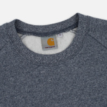 Мужская толстовка Carhartt WIP Holbrook 9.6 Oz Navy Noise Heather фото- 1