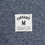 Мужская толстовка Carhartt WIP Holbrook 9.6 Oz Navy Noise Heather фото- 3
