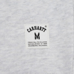 Carhartt WIP Holbrook 9.6 Oz Men`s Sweatshirt Show Noise Heather photo- 3