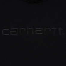Мужская толстовка Carhartt WIP Hooded Carhartt 13 Oz Black/Black фото- 1