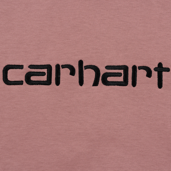 Мужская толстовка Carhartt WIP Hooded Carhartt 13 Oz Blush/Black