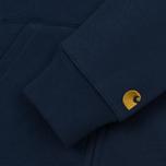 Мужская толстовка Carhartt WIP Hooded Chase Blue/Gold фото- 4