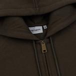 Мужская толстовка Carhartt WIP Hooded Chase Cypress/Gold фото- 1